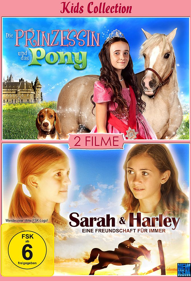 Kids Collection-Sarah&Harley + Prinzessin&das Pony