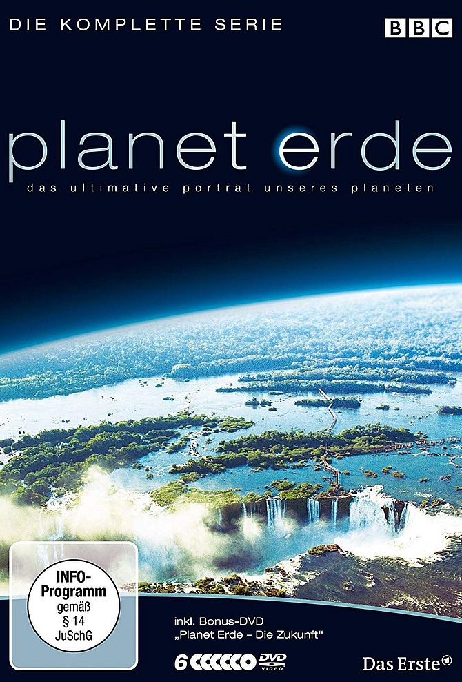 Planet Erde - Die komplette Serie - BBC (Softbox)